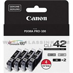 Canon-6384B008-CLI-42-Black-Gray-Combo-Pack
