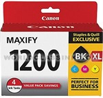 Canon-9183B005-PFI-1200XL-Black-PFI-1200-Color-Combo-Pack