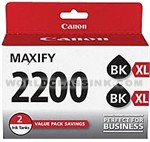 Canon-9255B006-PFI-2200XL-Black-Twin-Pack