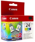 Canon-BCI-24CL-Twin-Pack-6882A010