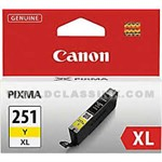 Canon-CLI-251YXL-6451B001-CLI-251XL-Yellow