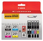 Canon-PGI-250XL-CLI-251XL-High-Yield-4-Color-Combo-Pack