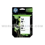 HP-HP-14-Black-Twin-Pack-C9330FN-C9330BN