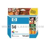 HP-HP-14-Color-Twin-Pack-C9342FN-C9342BN