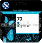HP-HP-70-Blue-Green-Printhead-C9408A