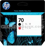 HP-HP-70-Matte-Black-Red-Printhead-C9409A
