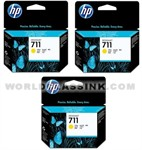 HP-HP-711-Yellow-Triple-Pack-CZ136A