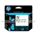 HP-HP-72-Matte-Black-Yellow-Printhead-C9384A