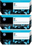 HP-HP-91-Cyan-Triple-Pack-C9483A
