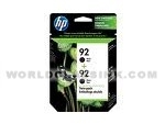 HP-HP-92-Twin-Pack-C9512FN-C9512BN