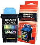 Sharp Ux-27cc Color Ink Cartridge (sharp Ux27cc Ink)
