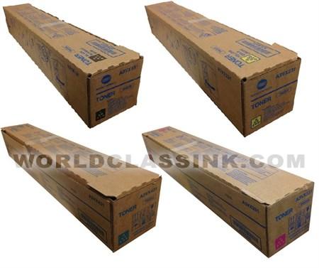 TN-622C Genuine Genuine Konica Minolta A5E7430 Cyan Toner Cartridge