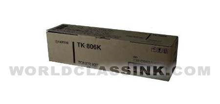 Kyocera Mita Black Toner Kit TK-806K for KM-C850//C850D