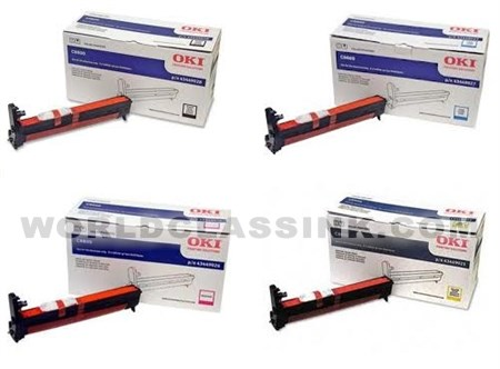 MG Compatible Toner Cartridges C8800DTN C8800DN etc; Cyan Ink: CO8800C Replacement for Oki 43487735; Models: C8800