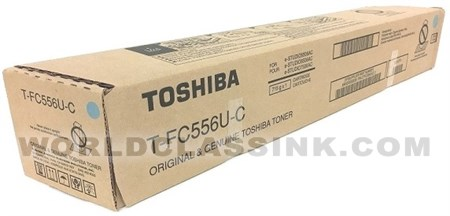 Genuine Toshiba T-FC556U-C Cyan Toner Cartridge
